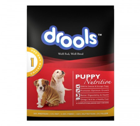 Drools Dog Food Puppy Chicken & Egg