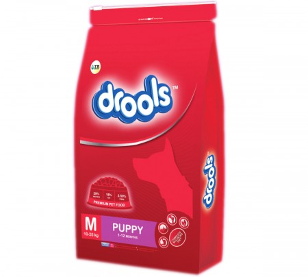 Drools Dog Food Puppy Medium Breed