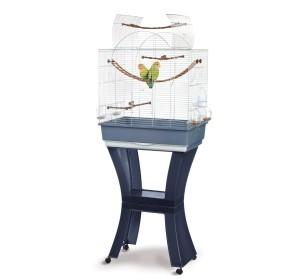 IMAC Matilde Chrome Bird Cage For Small Birds