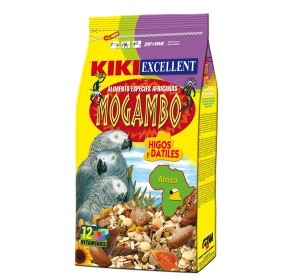 KIKI Excellent Mogambo Food For African Parrot