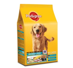 Pedigree Dog Food Young Adult Chicken and Rice
