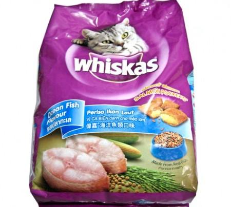 Whiskas Cat Food Pocket Ocean Fish